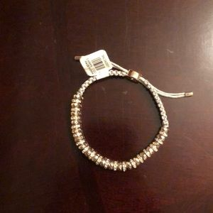 The Loft - beaded slider bracelet
